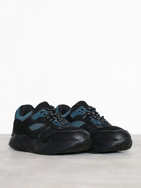 New Look Jerry Chunky Trainer V2 Sneakers Black - herre
