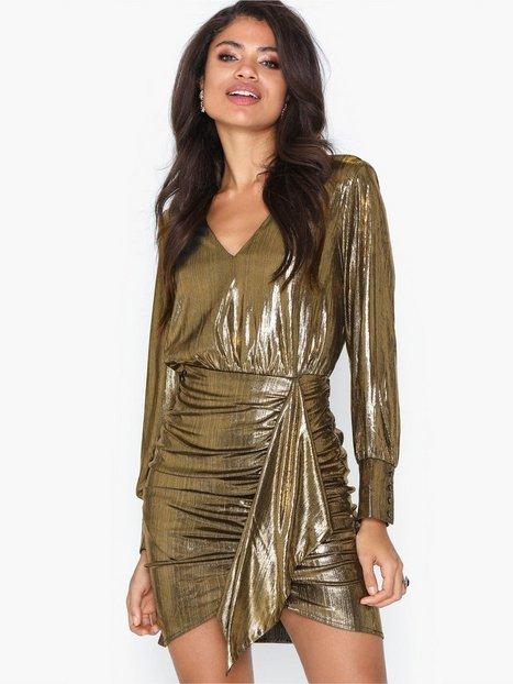 Billede af River Island Metallic Shirt Dress Festkjoler