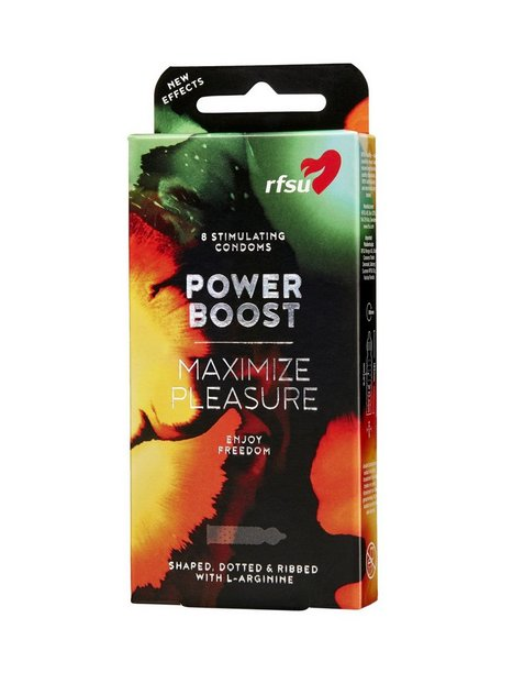RFSU Power Boost Condoms 8-Pack Kondomer