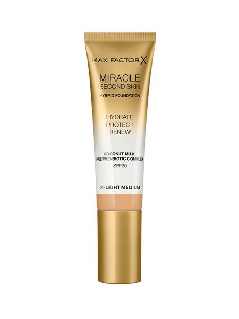 Max Factor Second Skin Foundation Foundation 004 Light Medium