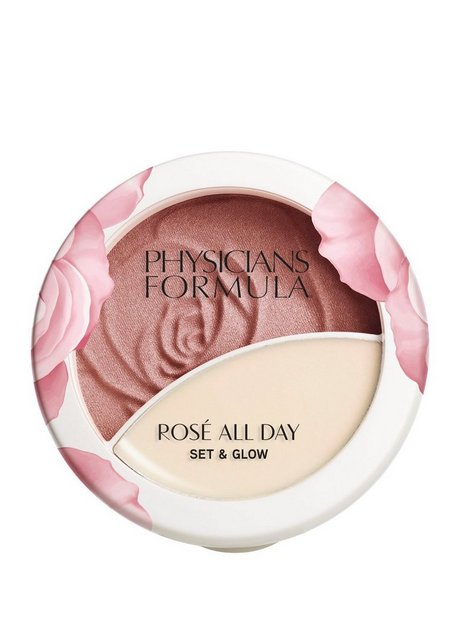 Physicians Formula Rosé All Day Set & Glow Powder Pudder Brigtening Rose