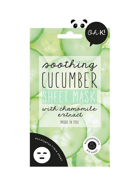 Oh K! Soothing Cucumber Sheet Mask Ansigtsmasker