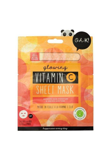 Oh K! Glowing Vitamin C Sheet Mask Ansigtsmasker