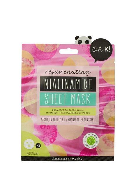 Oh K! Rejuvenating Niacinamide Sheet Mask Ansigtsmasker