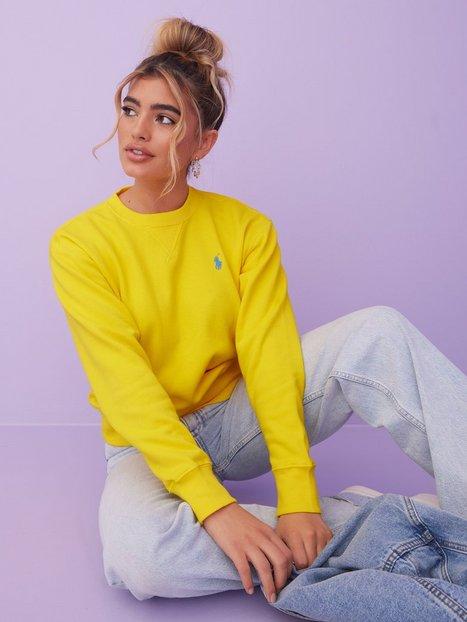 Polo Ralph Lauren Ls Po-Long Sleeve-Knit Sweatshirts Yellow
