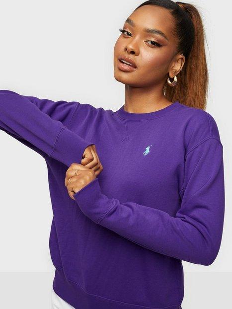 Polo Ralph Lauren Ls Po-Long Sleeve-Knit Trøjer Purple