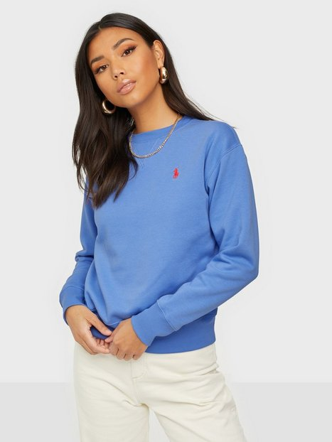 Polo Ralph Lauren Ls Po-Long Sleeve-Knit Sweatshirts Blue