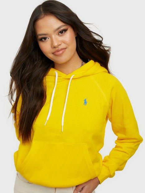 Polo Ralph Lauren Shrnkhdsmpp-Long Sleeve-K Hoodies Yellow
