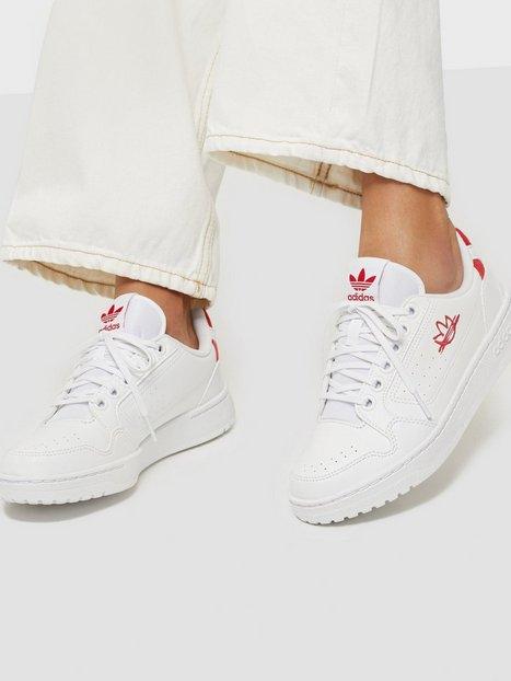 Adidas Originals NY 90 Low Top Vit/Röd