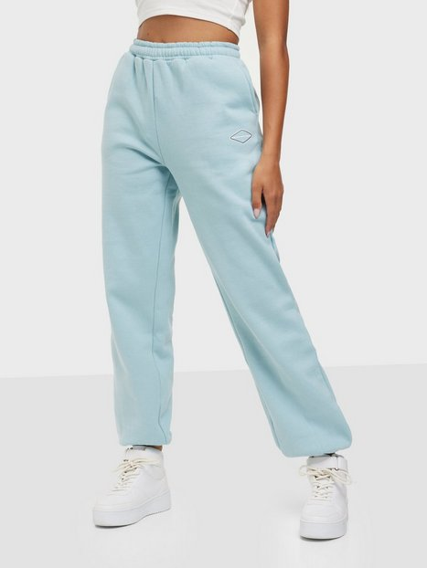 Nicki Studios Logo Collage Pants Joggingbukser Glory Blue