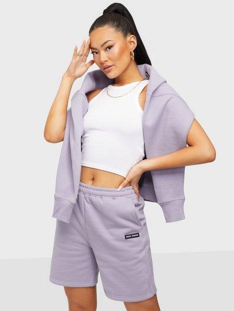 Nicki Studios Logo Collage Shorts Shorts Violet