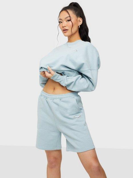 Nicki Studios Logo Collage Shorts Shorts Glory Blue