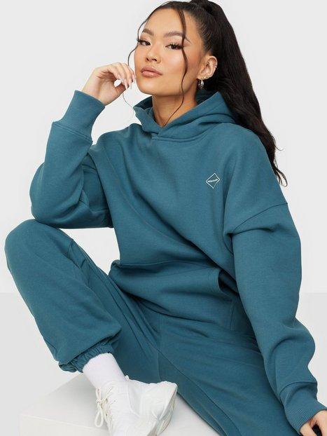 Nicki Studios Logo Hoodie Hoodies Teal Blue
