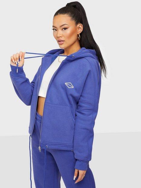 Nicki Studios Logo Zip Hoodie Hoodies Infinity Blue