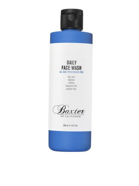 Baxter Of California Daily Face Wash 236 ml Ansigtspleje Transparent - herre