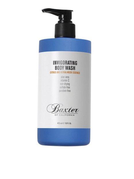 Baxter Of California Invigorating Body Wash Citrus 473 ml Hudpleje Transparent - herre