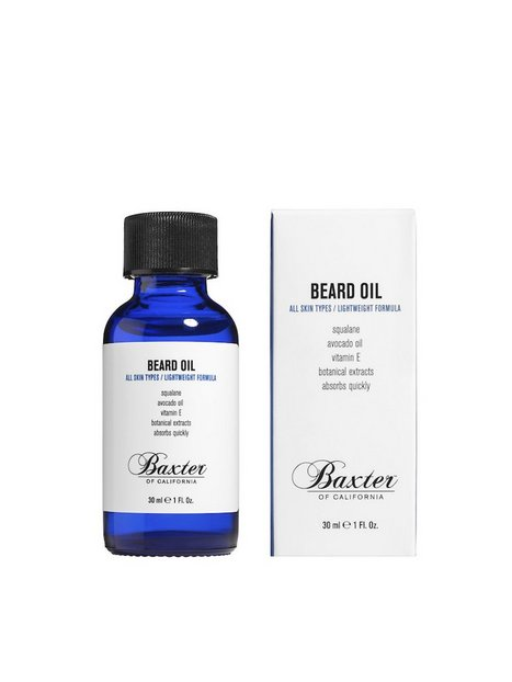 Baxter Of California Beard Grooming Oil 30 ml Barbering Transparent mand køb