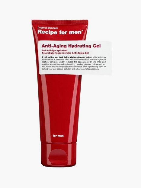 Recipe For Men Anti Aging Gel 75 ml Ansigtspleje Transparent mand køb billigt