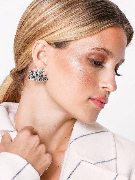 Billede af NLY Accessories Silver Cover Earrings Øreringe