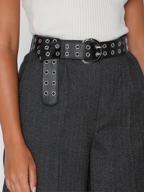 NLY Accessories Long Double Eyelet Belt Bælter