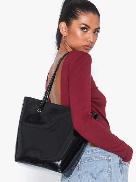 NLY Accessories Shine On Shopper Bag Handväskor