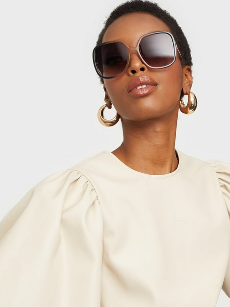 NLY Accessories Oversized 70's Sunglasses Solbriller