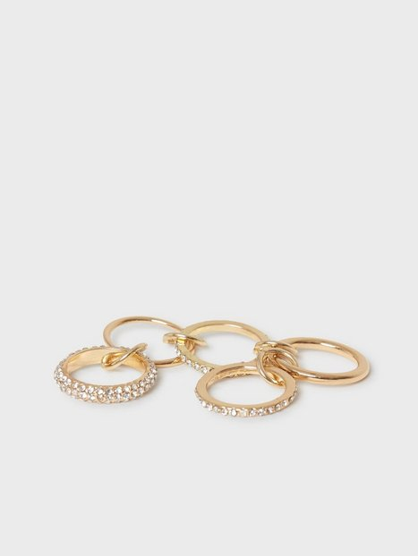 NLY Accessories Chained Statement Ring Ringe