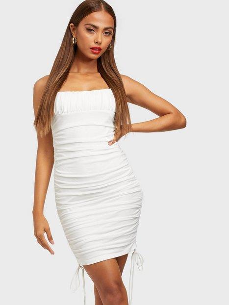 Kiss The Sky Mesh Side Tie Dress Tætsiddende kjoler