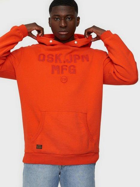 Superdry Modern Workwear Hood Trøjer Deep Red