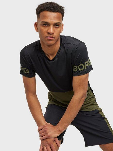 Björn Borg T-Shirt M Sports Academy Trænings t-shirts Black