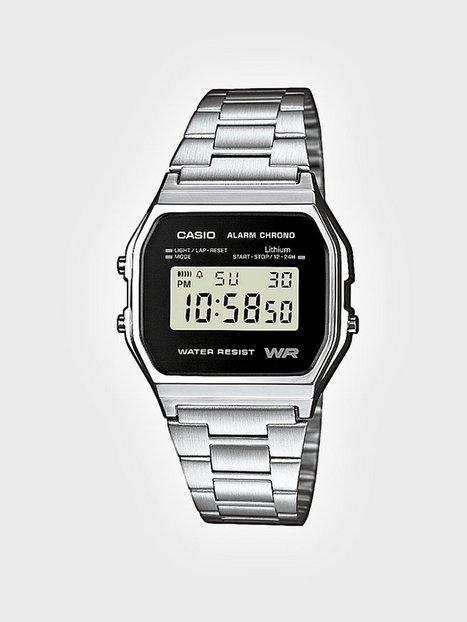 Casio A158WEA-1EF Klockor Silver