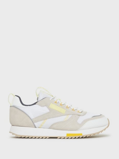 Reebok Classics Cl Leather Ripple T Sneakers White mand køb billigt