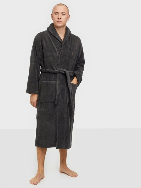 Polo Ralph Lauren Shawl Collar Robe Morgenkåber Dark Slate