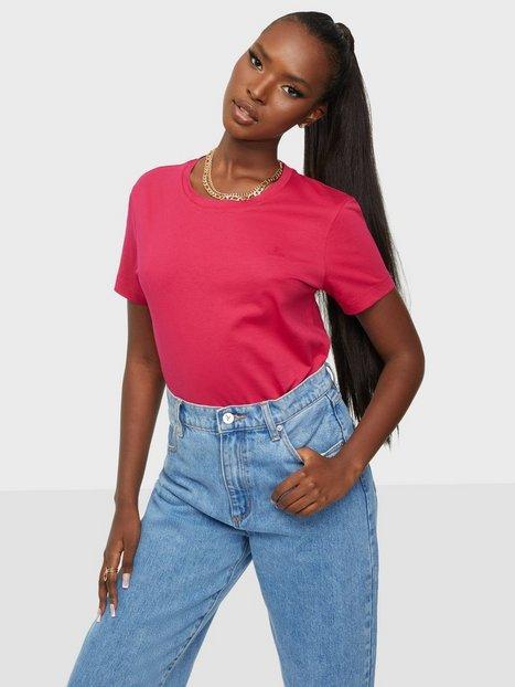 Gant Original Ss T-Shirt T-shirts Raspberry