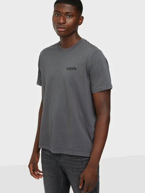 Levis Ss Relaxed Fit Tee Mv Ssnl Logo Garment T-shirts & undertrøjer Black