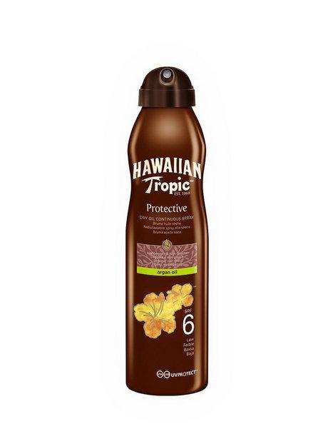 Hawaiian Tropic Protective Dry Argan Oil Spray SPF 6 180 ml Solcremer