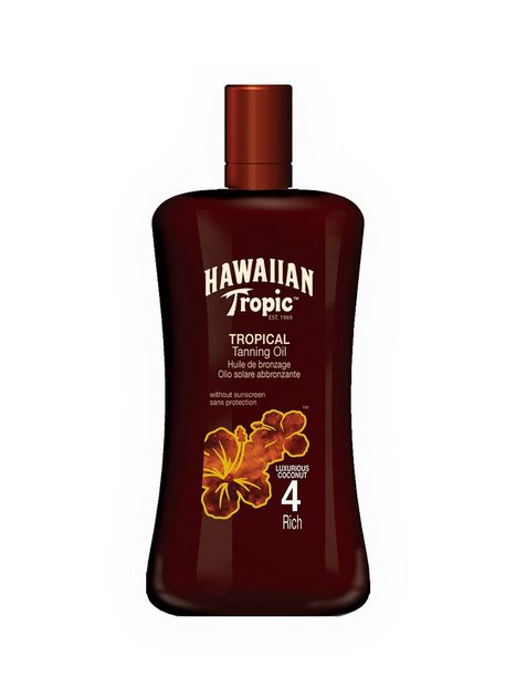 Hawaiian Tropic Tropical Tanning Oil Rich 200 ml Sololier