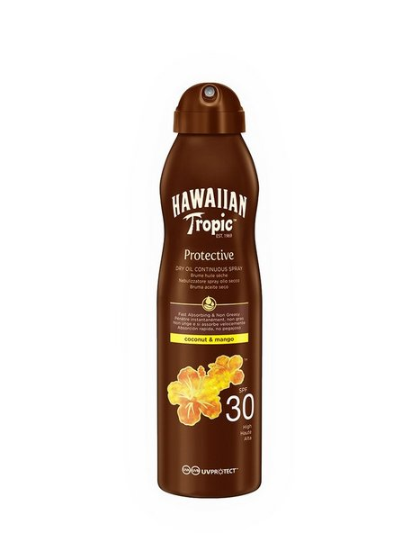 Hawaiian Tropic Protective Dry Oil Spray SPF 30 Coco & Mango 180 ml Solcremer