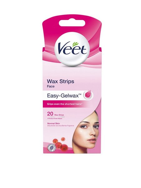 Shop Veet Cold Wax Strips Face 20st Pink Skincare Nelly Com