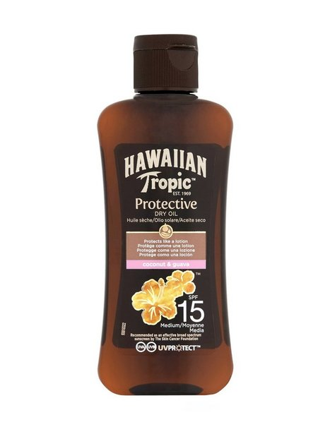 Hawaiian Tropic Protective Oil SPF15 100 ml Solcremer
