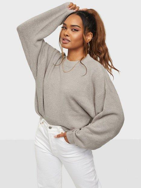 Se NLY Trend Sleeve Focus Knit Strikkede trøjer ved Nelly