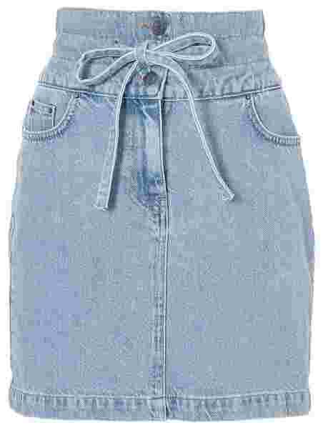 Tie Waist Denim Skirt, NLY Trend