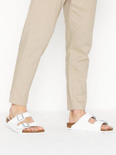 Birkenstock Arizona Sandaler klip klappere White mand køb billigt