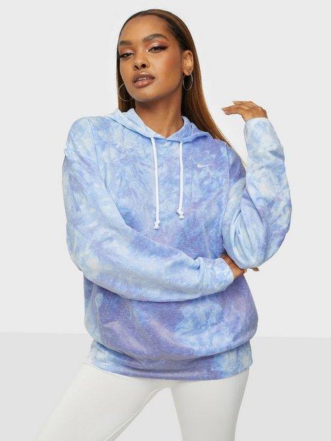 Nike W Nk Po Hoodie Icnclsh Su Træningstrøjer Blue