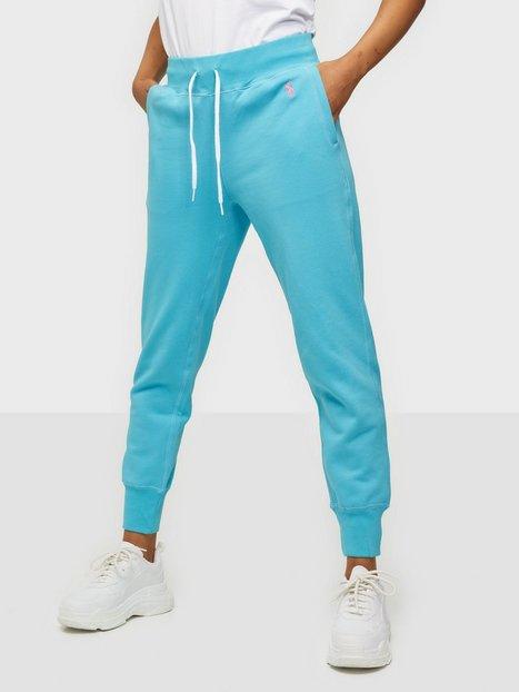Polo Ralph Lauren Po Sweatpant-Ankle-Pant Joggingbukser Blue
