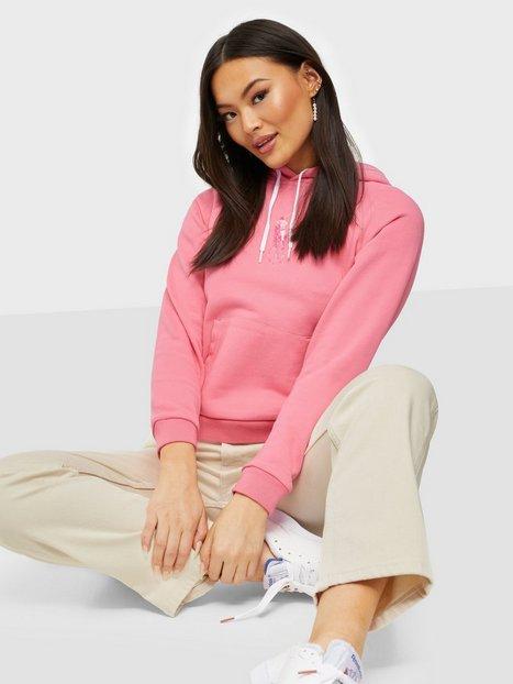 Polo Ralph Lauren Shrk Hd W Pp-Long Sleeve-Knit Hoodies Pink