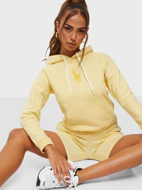 Polo Ralph Lauren Shrk Hd W Pp-Long Sleeve-Knit Trøjer Yellow