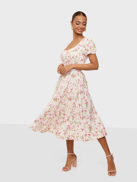 Polo Ralph Lauren Ss Elzbt Dr-Short Sleeve-Casual Dress Skater kjoler