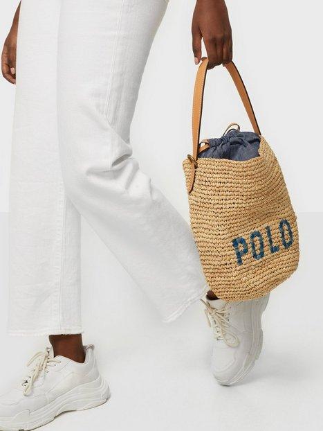 Lauren Ralph Lauren Mn Bucket-Shoulder-Medium Håndtasker