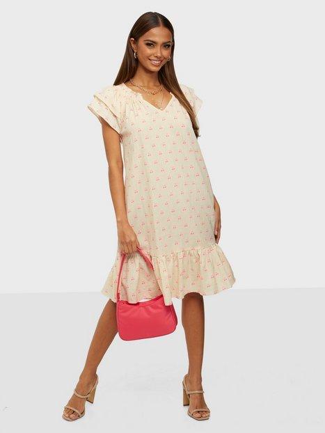 Co'couture Sunrise Crop Cherry Dress Loose fit dresses